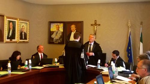 Giuramento avvocato Basilio Antoci - Catania