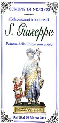Festeggiamenti in onore di San Giuseppe 2019 - studio legale Avvocato Basilio Elio Antoci a Nicolosi